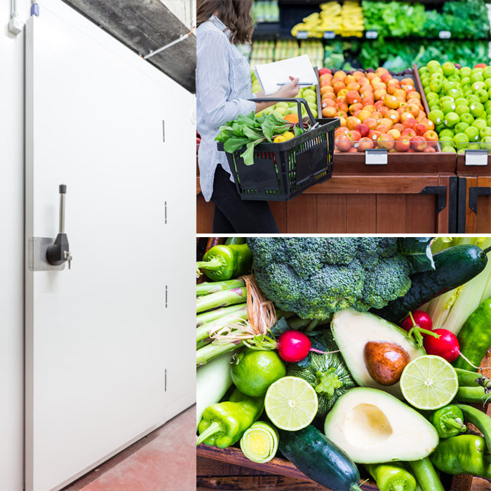 Fresh Vegetable Store Cold Room