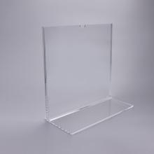 Expositor de acrílico transparente personalizado