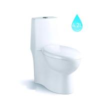 WC de cerámica chino / WC estándar estadounidense / inodoro de una pieza