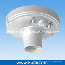 High Quality E27 PIR Sensor Lamp Holder Socket