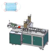 Automatic disposable face mask ear loop 4 spot ultrasonic welding machine