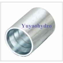 Vedação de crimpagem de aço inoxidável para SAE 100 R1A