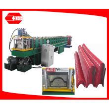 Steel Roofing Ridge Cap Tile Roll Forming Machine (YX162-287)