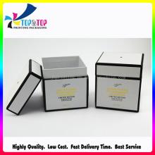Kundenspezifisches Design Fancy Paper Schwarz-Weiß-Kerze Verpackung