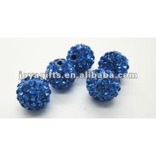 Bola de cristal de la arcilla del shamballa de 10m m, bolas del shamballa