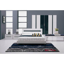 Ensemble de meubles de chambre à coucher à la mode pour adultes (HF-EY1001)