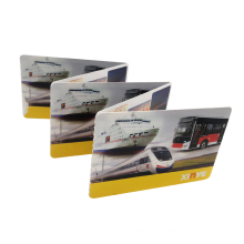 Bilhetes descartáveis de cartões de papel personalizados RFID HF