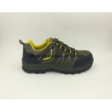 New Designed Safety Shoes Split Nubuck Leather Safety Shoes with Composite Toe Cap (16050)