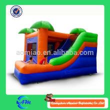 Jungle tema popular bouncer inflável combo