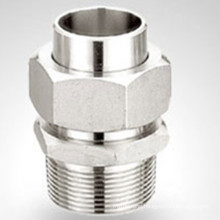 Bsp / NPT Forged Threaded Screwed Stainless Steel Union