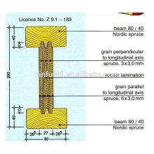 Encofrado H20 / H16 viga de madera