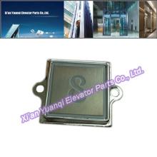 KONE Boutons Ascenseur Levage Pièces détachées En acier inoxydable Push Call Button Forme carrée