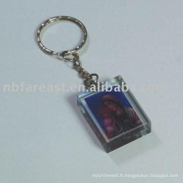 Porte-clés en cristal
