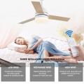 Ventilador de teto moderno personalizado de alta qualidade