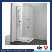 Fabricante profesional de perfiles de aluminio para ducha