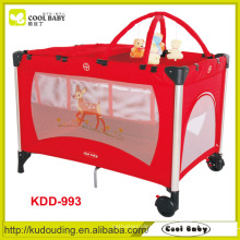 Alta qualidade quente venda melhor vermelho vendendo bebê playpen
