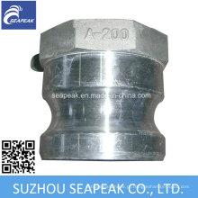 Acoplamento Camlock de alumínio - Digite um
