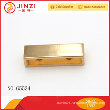 fashion zipper end, metal material zipper end, hardware handbag fittings