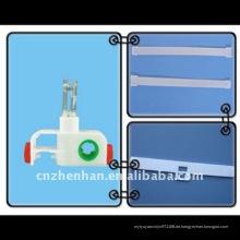 3-poliger Hakenträger, Platz, Kleiderbügel für senkrechte Blindzubehör, Vorhangkomponenten, senkrechter Schattenläufer