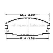 Brake system D363 16 05 825 1605827 1605916 for Ford brake pad