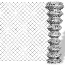 6 foot 9 gauge high quality used chain link fence price galvanized and pvc coated wire fence for sale