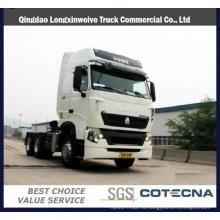 Компания sinotruk марки HOWO T7h 360Л 6х4 грузовик с прицепом