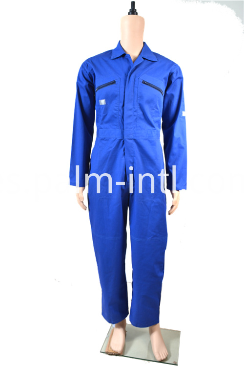 Polyeseter/Cotton Zipper Coverall