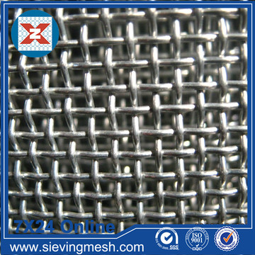 SS 304L Crimped Weave Sieve Mesh