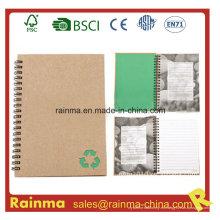 Cuaderno espiral con papel impermeable de piedra