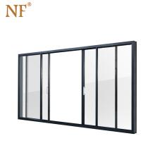 Soundproof interior heavy duty polycarbonate sliding door