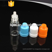 botella del dropper del plástico del animal doméstico caliente de la venta 3ml