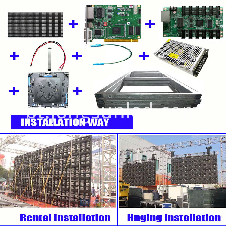 Led Display Installation Rental