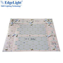 300mm x 100mm small size aluminum base PCB material led electronic display rgb led backlight panel