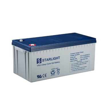 12V DG12-260 Wiederaufladbare VRLA Deep Cycle Gel Batterie