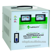 Customed Tnd/SVC-3k Single Phase Series Fully Automatic AC Voltage Regulator/Stabilizer
