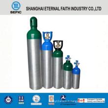 Cylindre de gaz en aluminium à haute pression de 8L (LWH140-8.0-15)