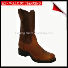 Square Toe Leather Cow boy boots
