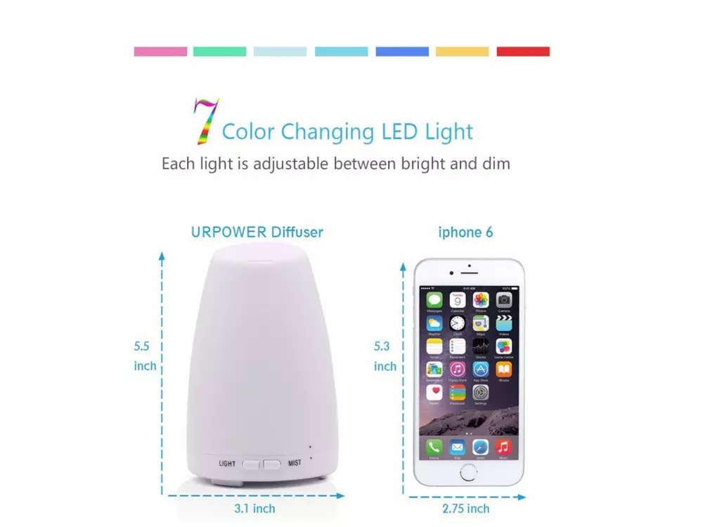 Hot Sale Ultrasonic Essential Oil Diffuser