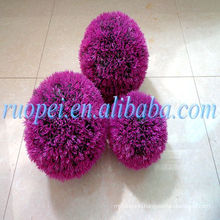 yiwu ruopei decorative grass ball zorb ball for sale