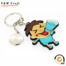 Porte-clés en PVC souple de conception de bande dessinée pour la promotion Ym1120