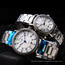 Quality Stainless Steel Metal Wrist Watches for Men and Ladies