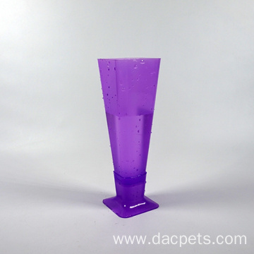plastic transparent ice cup