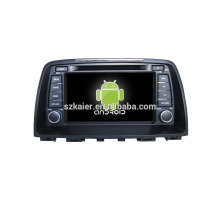 Quad-Core! Auto-DVD mit Spiegellink / DVR / TPMS / OBD2 für 8-Zoll-Touchscreen-Quad-Core 4.4 Android-System MAZDA 6