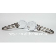 crystal cap plating curtain hook