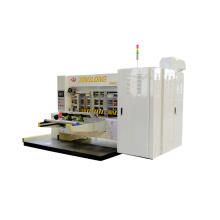 Automatic pizza carton box flexo high speed printing slotting die cutting machine