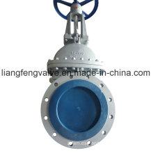 ANSI Válvula de compuerta de vástago de vástago ascendente con acero de carbono RF