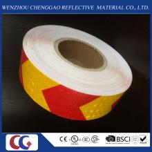 Fita de material reflexivo de cristal de PVC de alta visibilidade na fábrica de China