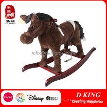 Passeio de cavalo de mola no brinquedo de cavalo para crianças passar En71 teste