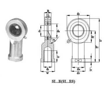 Spherical Plain Bearings SI-E Series