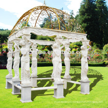 Popular Design Metal Roof Gazebo with Customized Service GAB-012